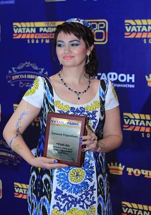 Тахмина Раджабова